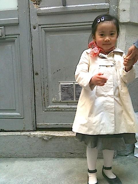LISAちゃん4歳