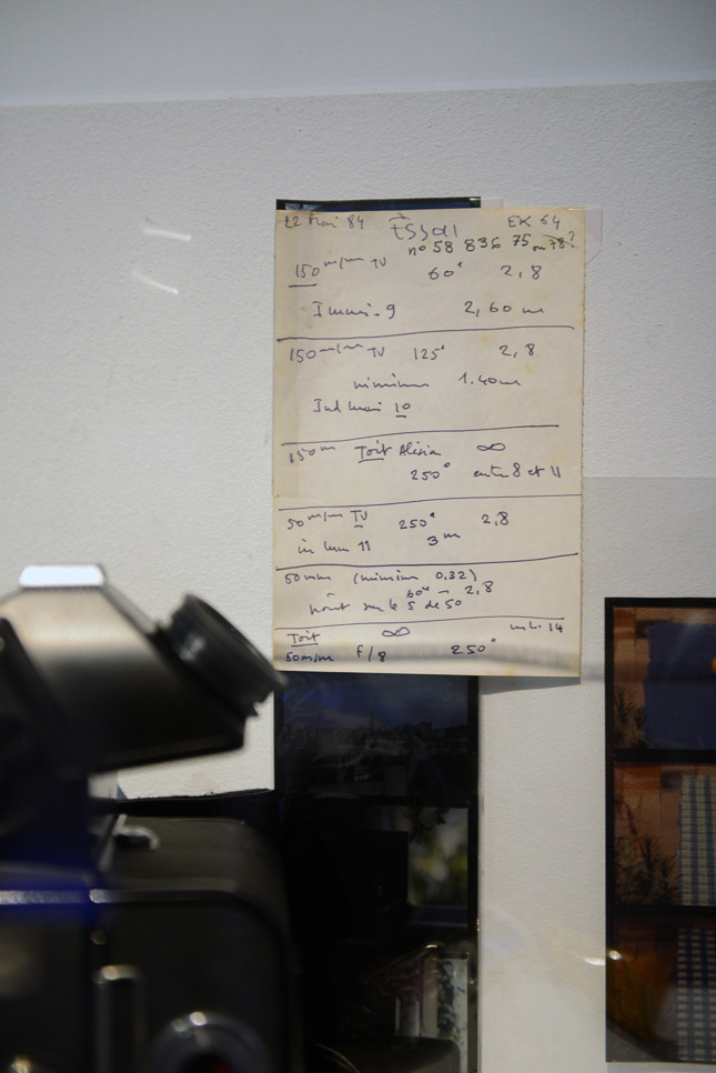 撮影機材のメモ。