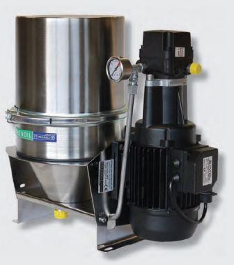 Nebenstromfiltration mit GREENOIL STANDARD