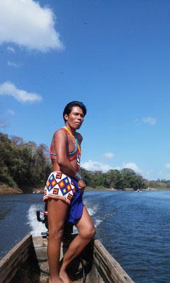 Les emberas au panama