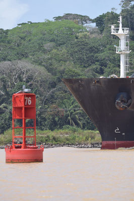 la traversée du canal de panama