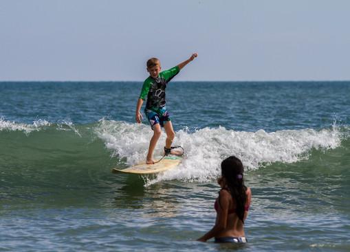 cours de surf proche Panama City