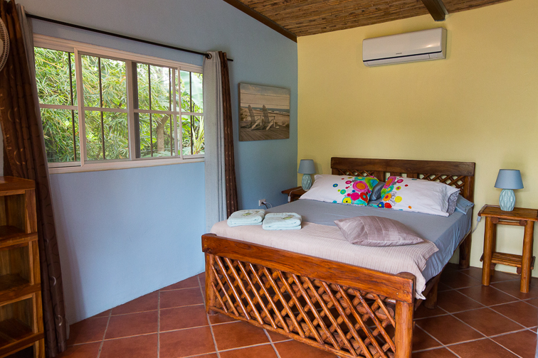 chambre 3 personnes cabanas los colibris panama