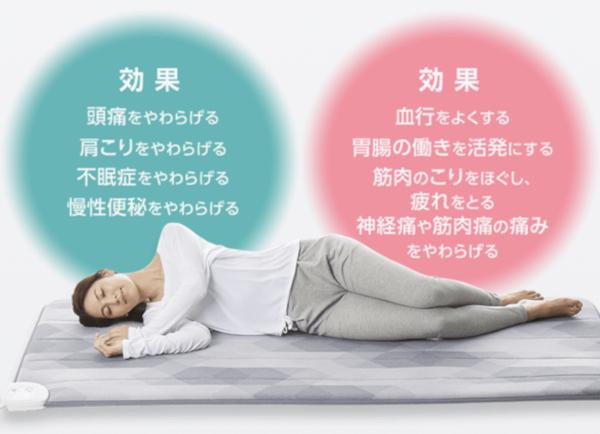 ローズテクニー電位治療と温熱治療の効果