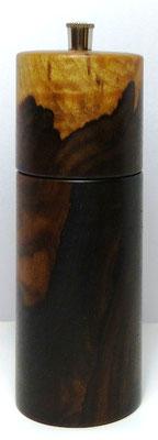 Pfeffermühle Zirikote ca. 14,5 cm außergewöhnliche Maserung