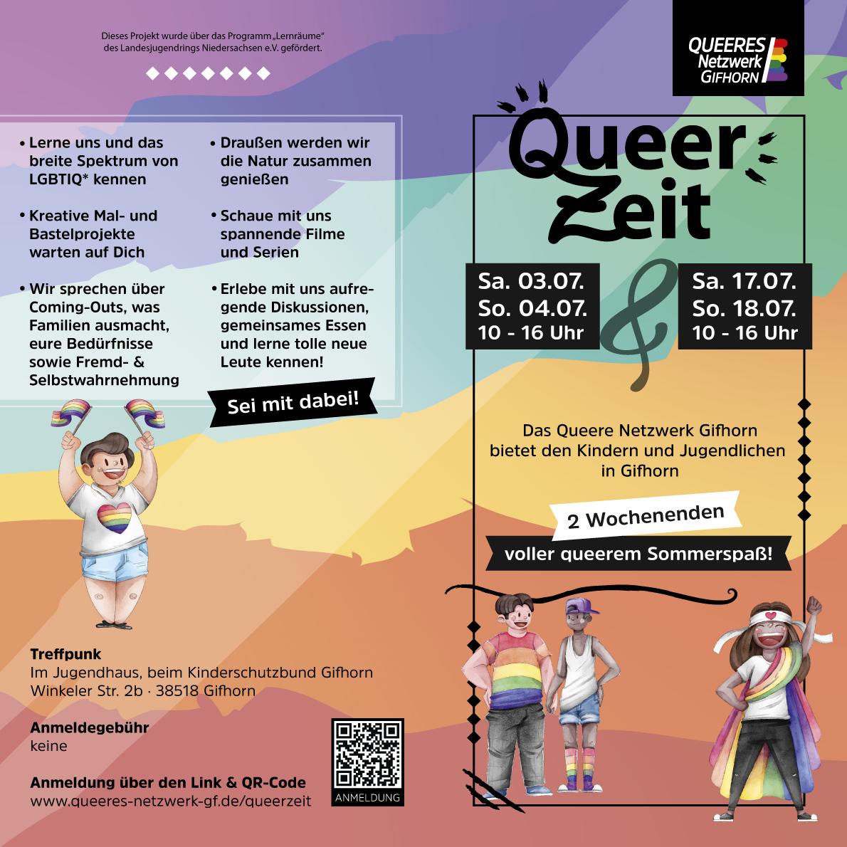 QNG präsentiert: Gifhorns erste QueerZeit!