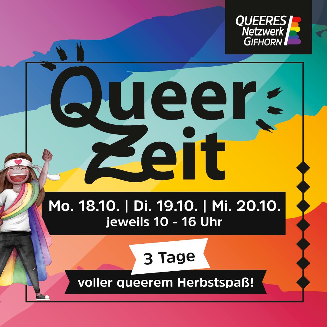 QueerZeit im Herbst 2021!