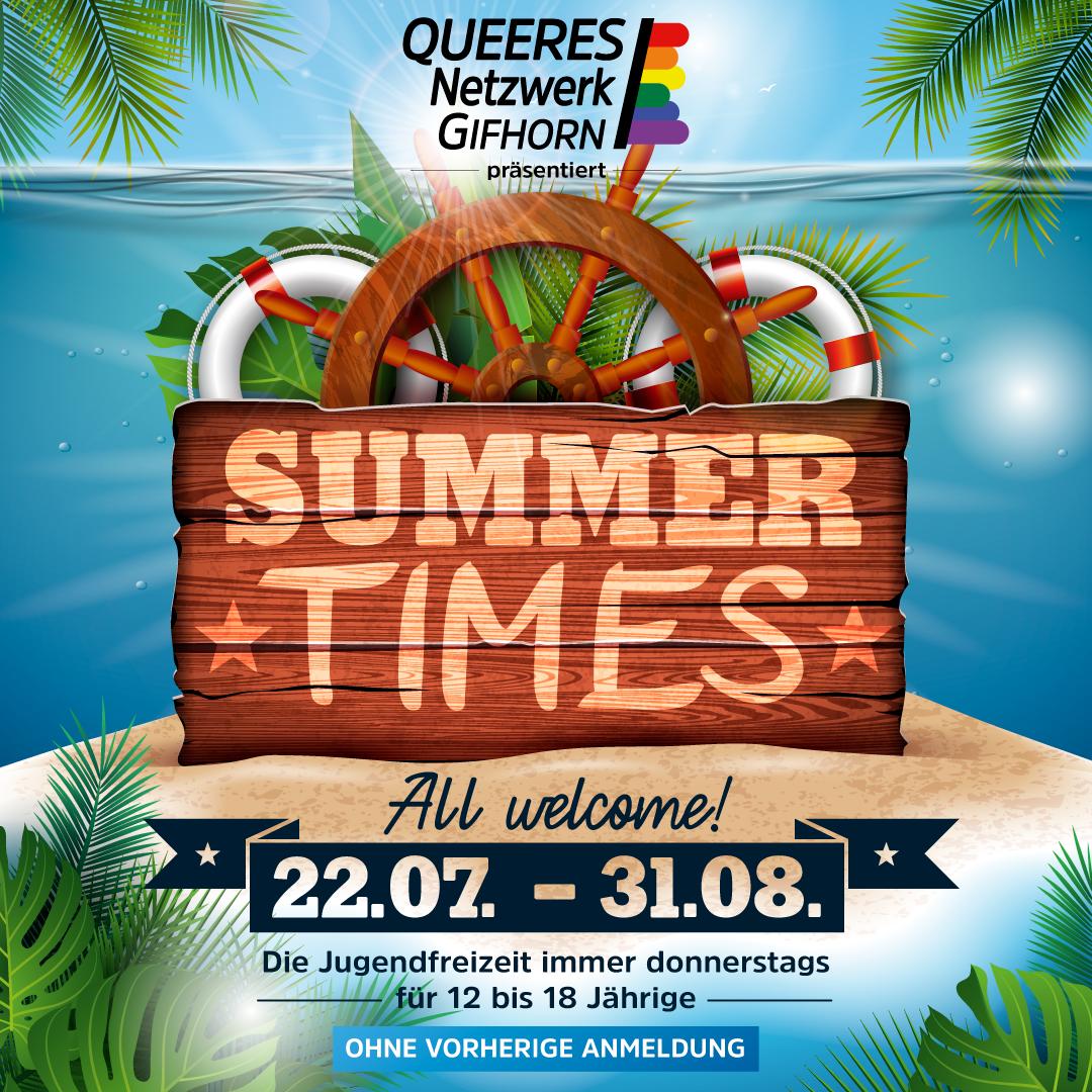 Sommerferienprogramm SUMMER TIMES!
