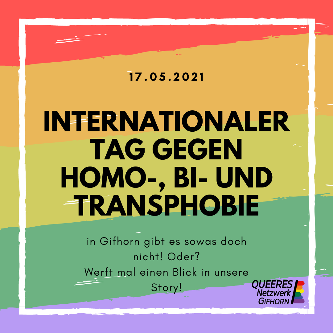 IDAHOBIT 2021: Queerfeindlichkeit auch in Gifhorn