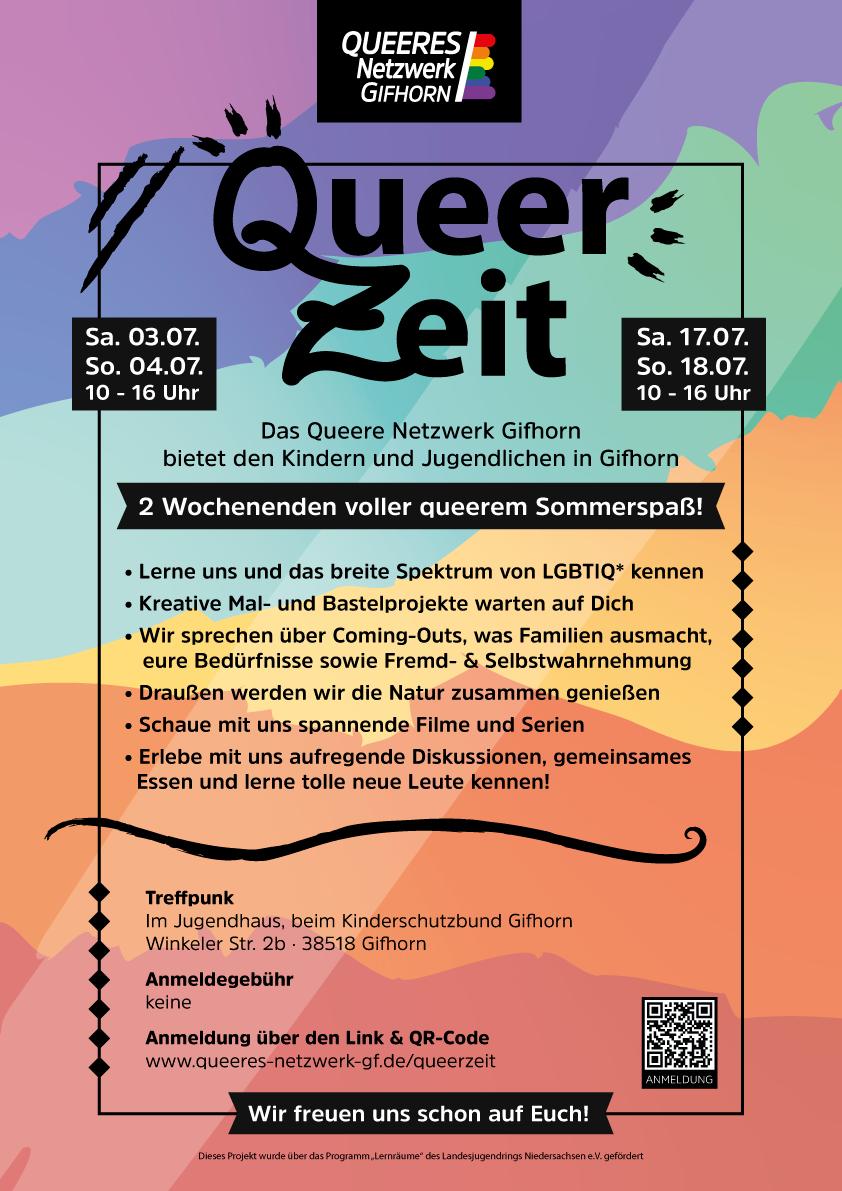 Für Jugendliche: Gifhorns erste QueerZeit