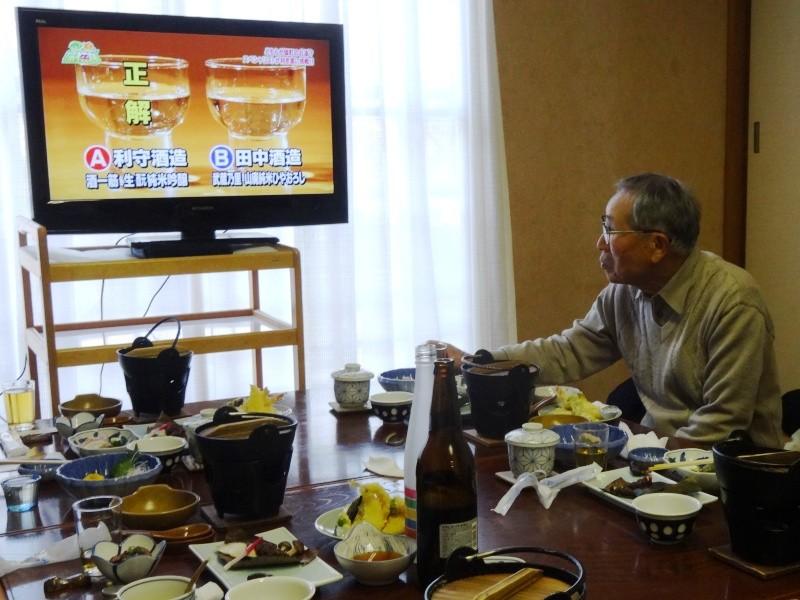 雄町特集の番組(録画)を見て勉強中