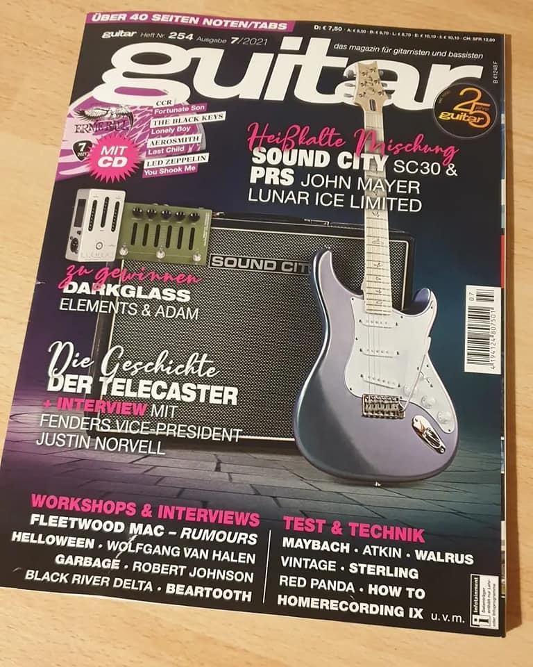 """Album-Rezension vom Magazin """"guitar""""!"""