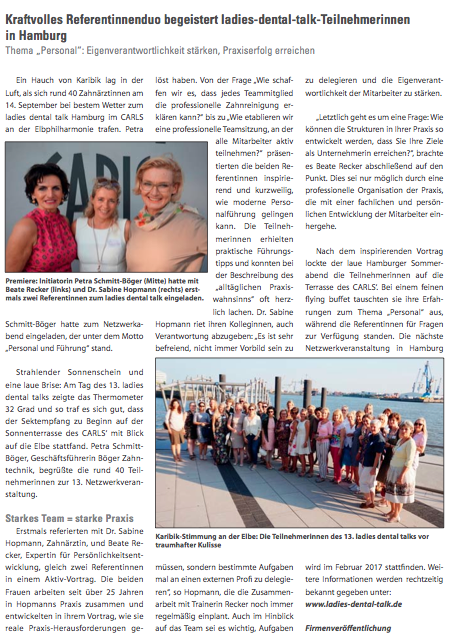 Hamburger Zahnärzteblatt 11-2016