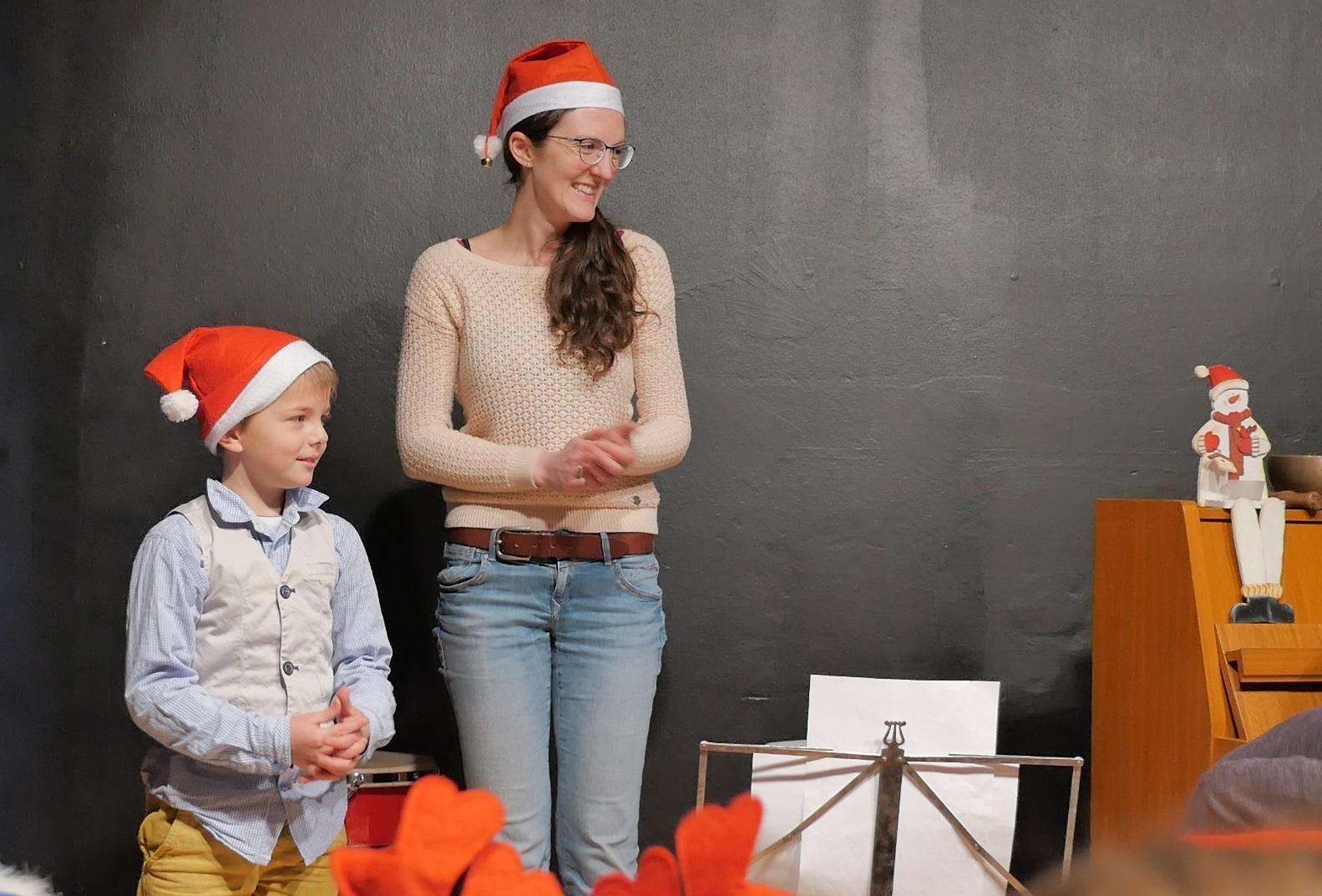 Frau Brinkmann von der Musikschule Chroma in Vellmar