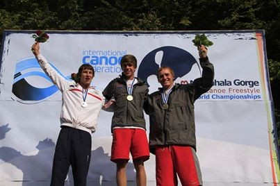 Kayak freestyle, thomas richard