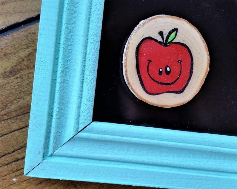 Aimant pomme sourire de Baloubab