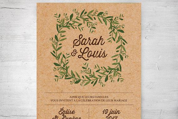 faire-part, invitation de mariage, invitation, mariage, wedding, enveloppe, charlotte et cie