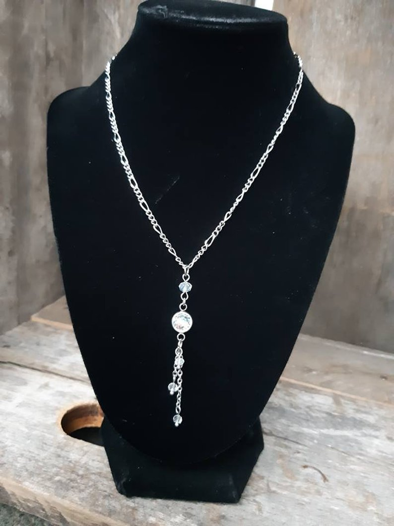 Chic crystal necklace - Ma-J Bijoux
