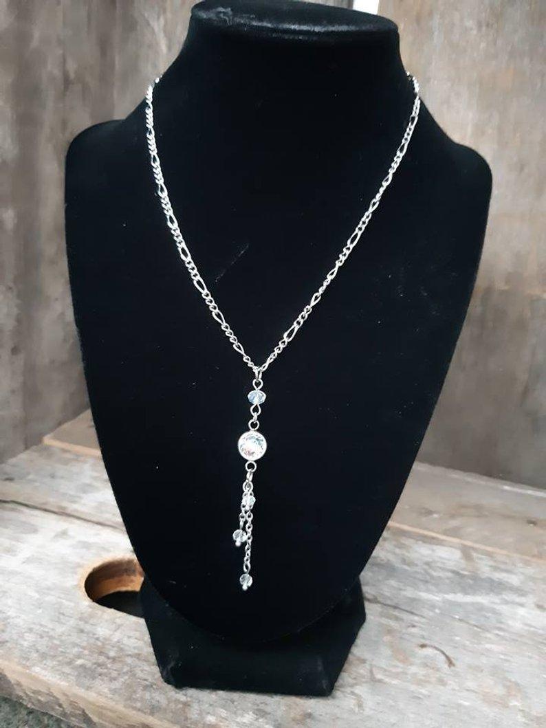 Chic crystal necklace - Ma-J Bijoux