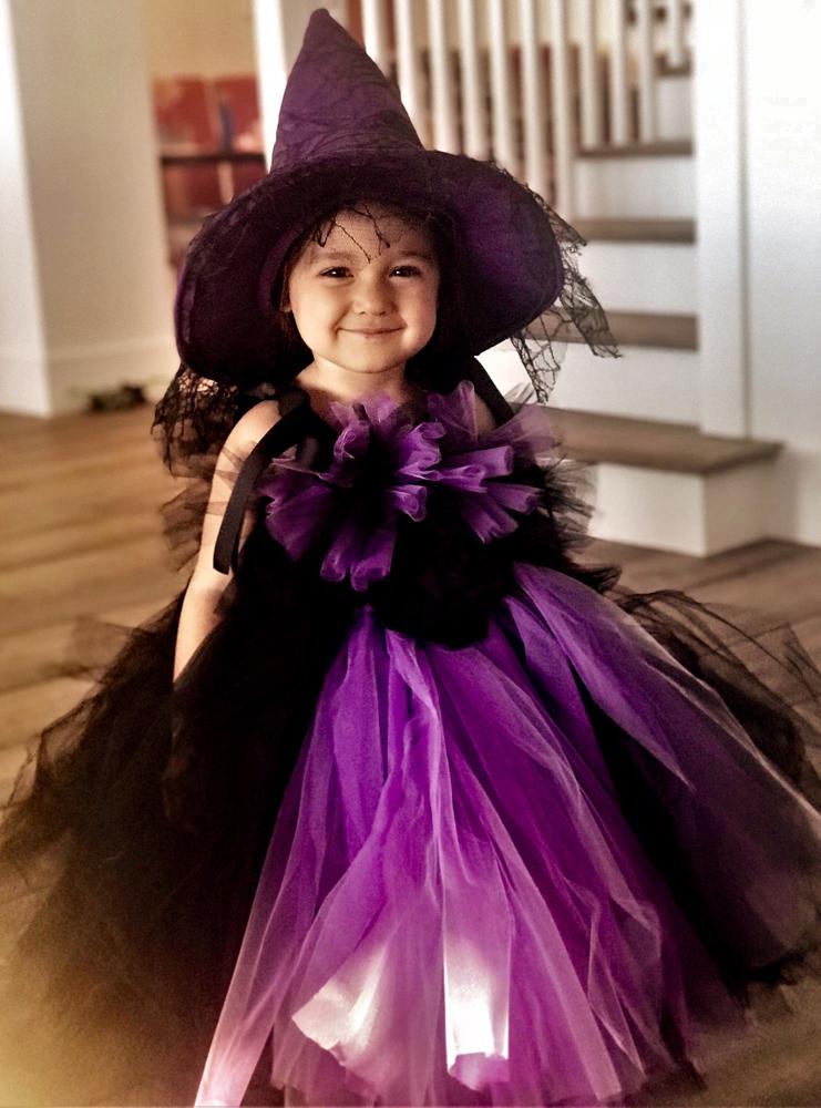Robe de sorcière Elsa Sieron