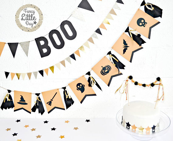 Ensemble de décoration d'Halloween