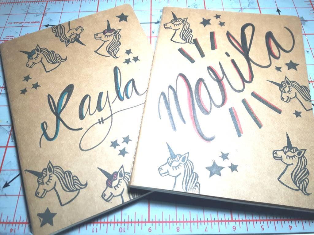 Grand cahier cartonné d'Atelier Mi