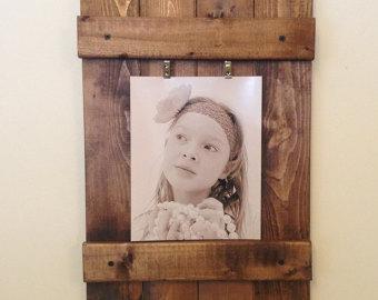 Cadre photo en bois - Cliquez sur la photo pour en savoir plus !