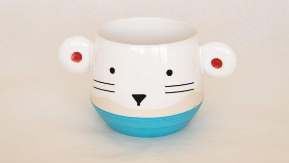 Bol ou tasse chat