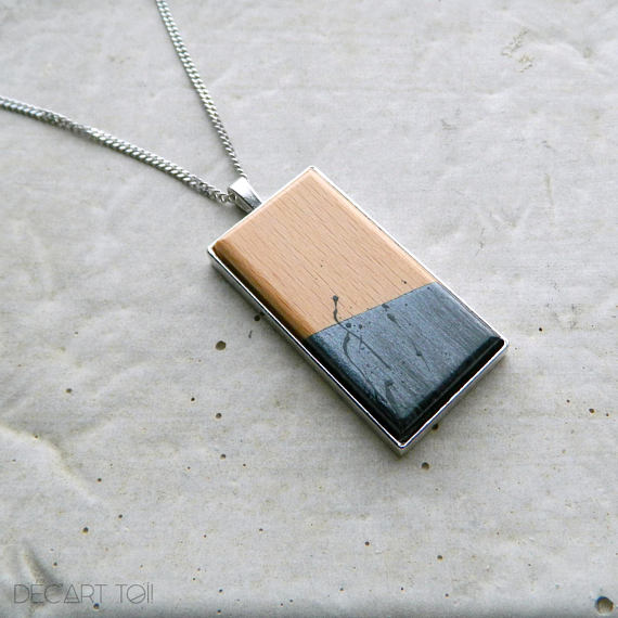 Bijoux en bois originaux de Déc'Art Toi