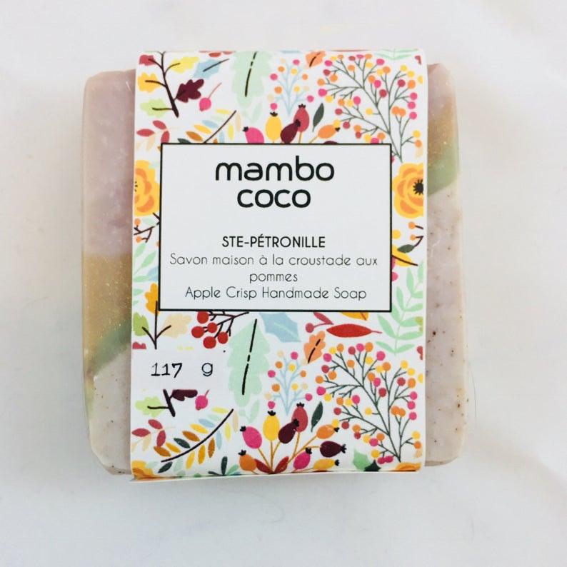 Savon à la croustade aux pommes de Mambo Coco