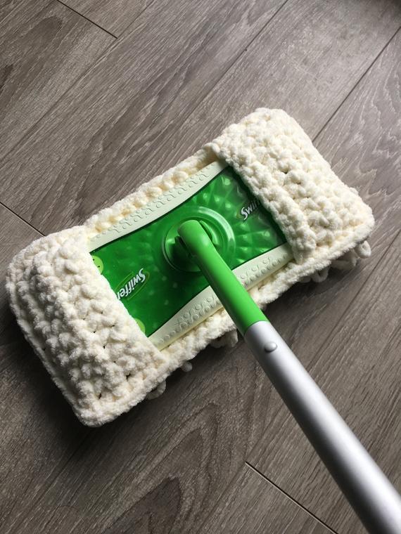 Couvre-moppe zéro déchet