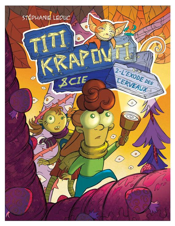 Bande dessinée Titi Krapouti