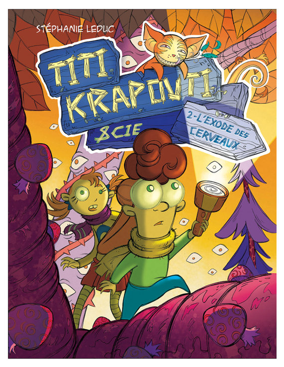 The comic book Titi Krapouti