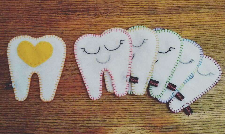 Pochettes à dents de lait
