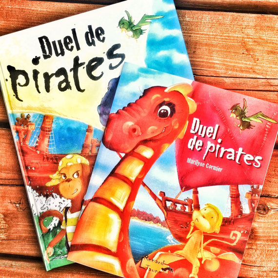 Duelling pirates personalized book