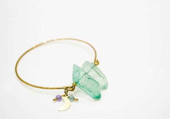 bracelet avec quartz