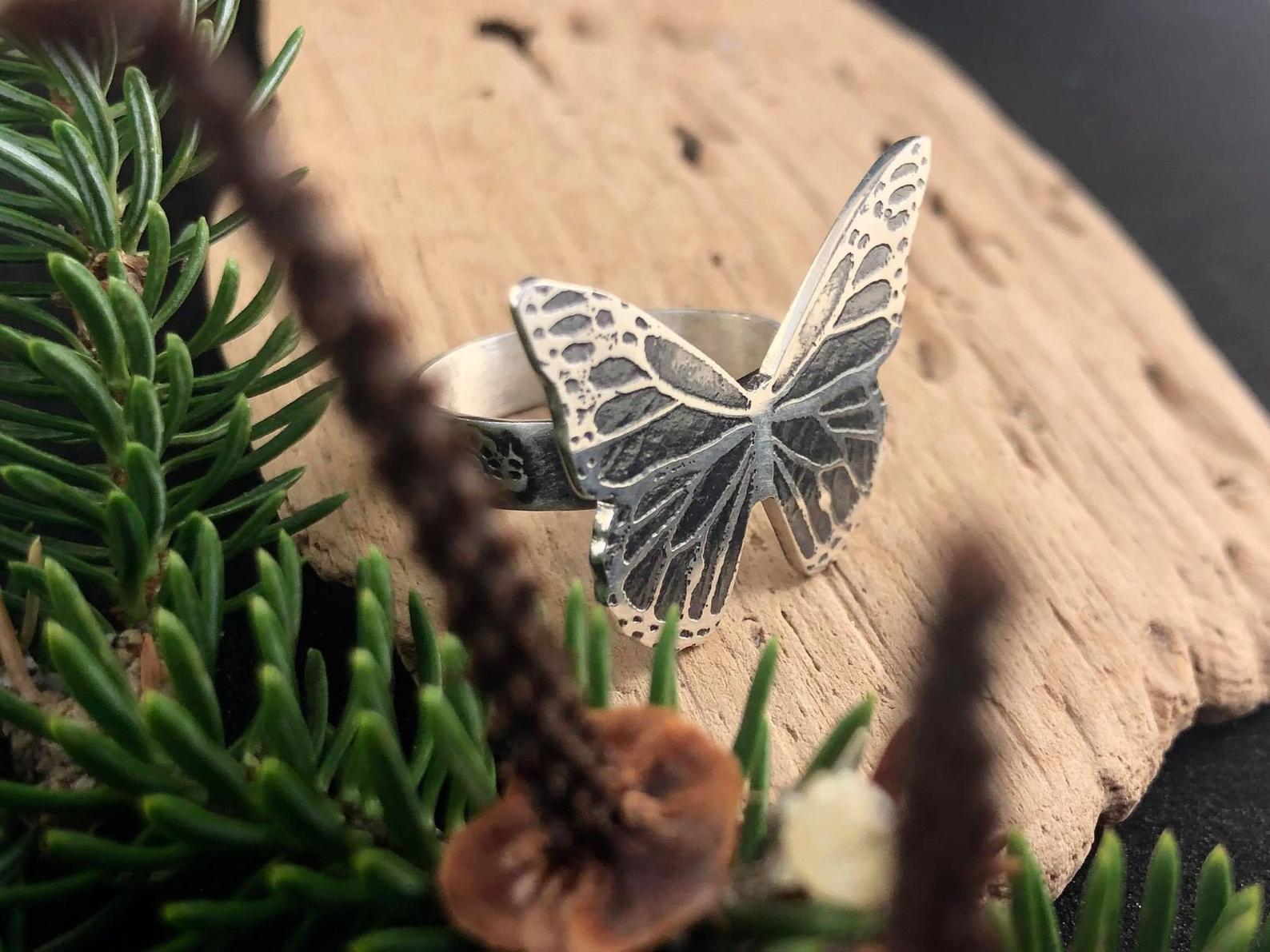 Bague papillon exclusive