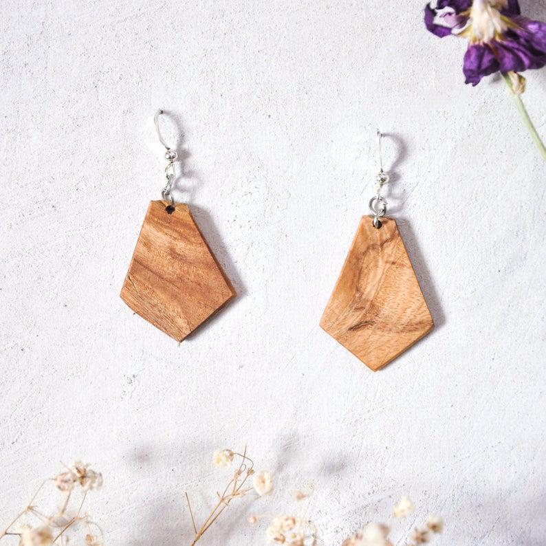 Berri, ash earrings