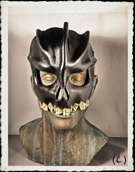 Masque de cuir