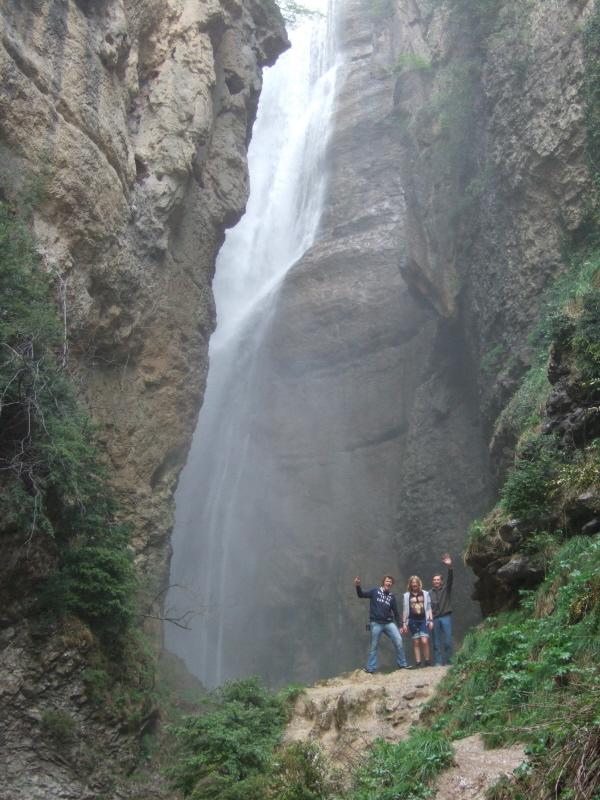 waterfall chute de la Druise