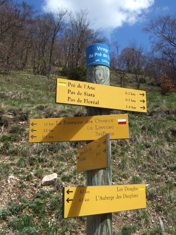 hiking Drôme