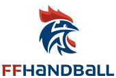 Cliquez sur le logo pour afficher le site de la fédération française de handball