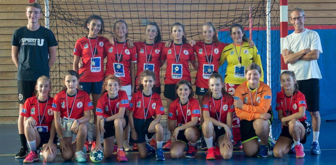 L'équipe championne régionale 2017-2018 avec les nouvelles recrues de cette saison