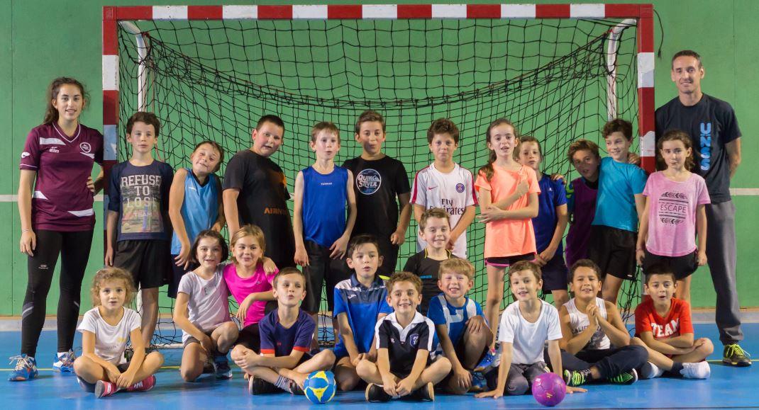 L'école de handball de la JA Isle Handball saison 2017-2018
