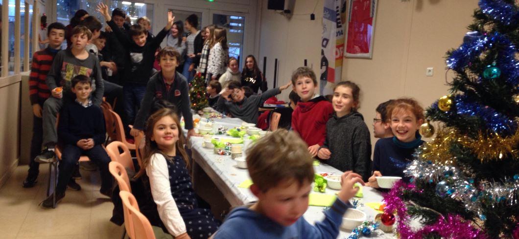 Goûter de Noël 2017 pour les jeunes