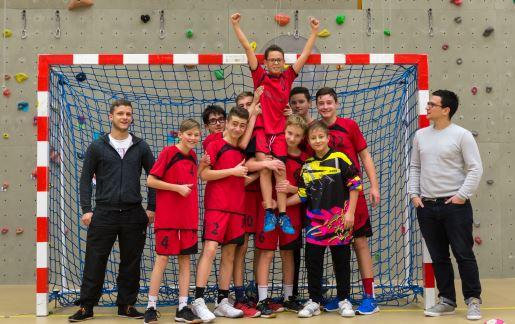 Deuxième photo de l'équipe garçon des -15 ans de la JA Isle Handball