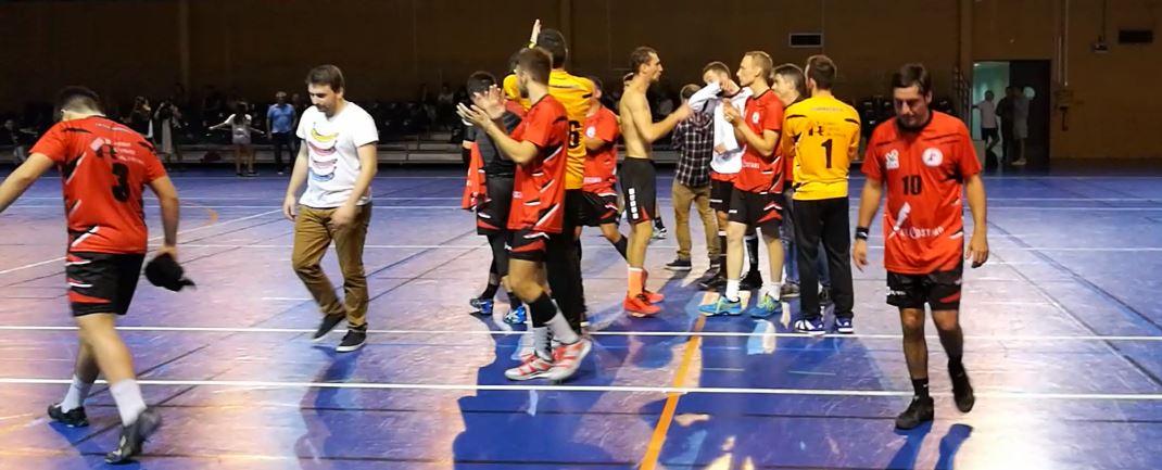 Victoire des seniors de la JA Isle Handball contre l'équipe du Palais-sur-Vienne