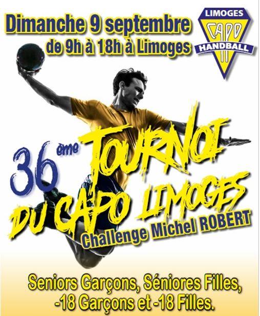 Affiche du 36ème tournoi du CAPO