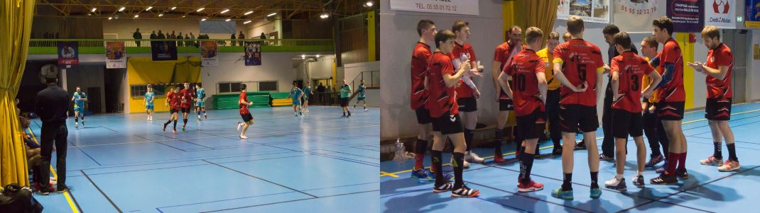 Match des seniors masculins contre Royan Saint Georges