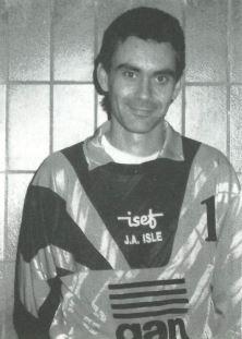 Bruno Gauthier joueur de la JA Isle Handball